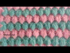 Crochet Shawl Diagram, Crochet Chart, Diy Crochet, Knitted Flower Pattern, Knitted Flowers, Crochet Stitches Patterns, Stitch Patterns, Knitting Patterns, Crochet Crocodile Stitch