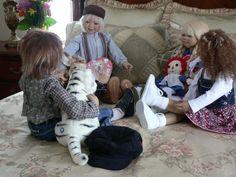 Sandy's Ole, Katiina, Toki, Eddie (?)