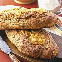 Wisconsin Cheddar Beer Bread