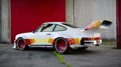 I hade a Plymouth Arrow truck painted like this!!! This Bonkers 911 Was Inspired By A 1980 Plymouth Arrow Pickup Truck