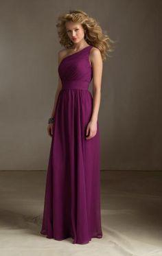 Hot Style Fuchsia Bridesmaid Dress BNNAJ0038-Bridesmaid UK