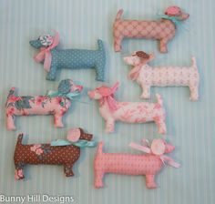 Lulu dogs for quilt market