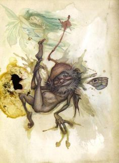 Lady Cottington's Pressed Fairy Book    - Terry Jones and Brian Froud (illustrator) Love this little guy.