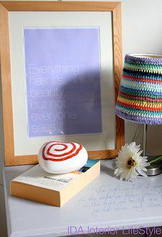 Crochet Lamp - inspiration