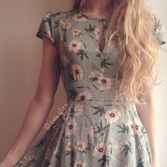 Картинка с тегом «dress, fashion, and flowers»