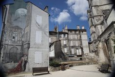 "Angouleme, France / Known for its ""Angouleme graffiti""."