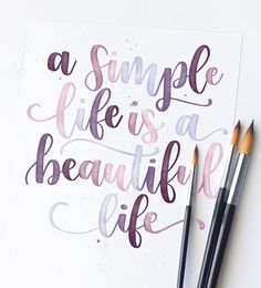 Watercolor Calligraphy Quotes, Calligraphy Quotes Doodles, Doodle Quotes, Handwritten Quotes, How To Write Calligraphy, Calligraphy Letters, Calligraphy Handwriting, Calligraphy Wallpaper, Islamic Calligraphy