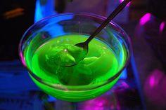 glowing jello