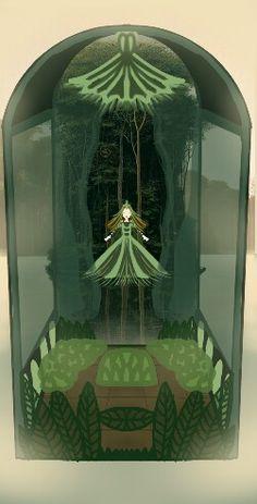Elfa delle piante del lago