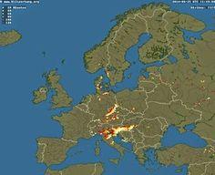 La mappa dei fulmini in realtime - Programmalibero