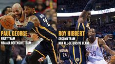 Roy Hibbert was named to the 2013-14 NBA All-Defensive Second Team.