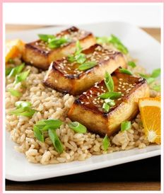 Easy Weeknight Baked Tofu - here's an easy tofu recipe for beginners resulting in a vegan meal that's satisfying and loaded with protein. The Effective Pictures We Offer You About tofu recipes vegan A Tofu Recipes, Vegan Recipes Easy, Easy Dinner Recipes, Whole Food Recipes, Vegetarian Recipes, Free Recipes, Whole Foods Meal Plan, Whole Food Diet, Best Chicken Casserole