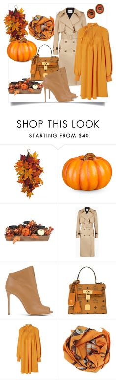 """""""Fall"""" by styleociety ❤ liked on Polyvore featuring WALL, Improvements, Casadei, MCM, TIBI, Hermès and Chanel"""