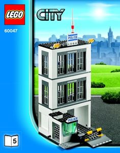 LEGO 60047 Police Station instructions displayed page by page to help you build this amazing LEGO City set Lego City Sets, Lego Sets, Lego Police Station, Lego City Undercover, Funny Marvel Memes, Lego Creator, Lego Instructions, Cool Lego, Lego Building