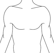 chest tattoo template - Google Search