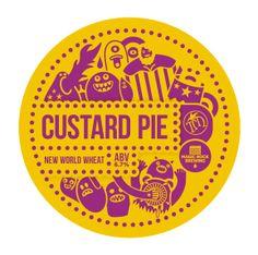 Custard Pie - new world wheat - by Magic Rock and Birra Toccalmatto.