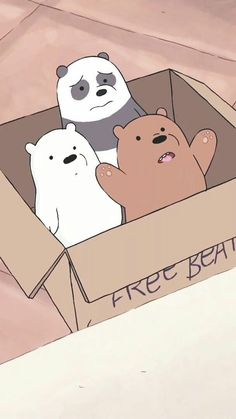 49 New Ideas For Wallpaper Cartoon Lucu Cartoon Wallpaper Iphone, Bear Wallpaper, Cute Disney Wallpaper, Kawaii Wallpaper, Cute Wallpaper Backgrounds, We Bare Bears Wallpapers, Panda Wallpapers, Cute Cartoon Wallpapers, Ice Bear We Bare Bears