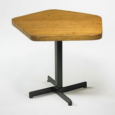 Charlotte Perriand; Cafe Table  from Les Arcs in Savoie, c1968.