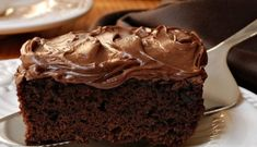 How to prepare Irresistible Chocolate Cake. Melt the chocolate with the butter in a water bath. Chocolate Coca Cola Cake, Buttermilk Chocolate Cake, Chocolate Brownies, Apple Brownies, Box Brownies, Fudge Cake, Chocolate Muffins, Food Cakes, Zucchini Desserts