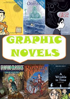 GRAPHIC NOVELS - CCSS - Looking for graphic novels to bring into your middle school or high school classroom? Start with this great list! Middle School Libraries, Middle School Reading, Middle School English, Middle School Classroom, English Classroom, Reading Resources, Teaching Reading, School Librarian, Children's Literature