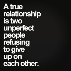 The #secret for #true #relationship..