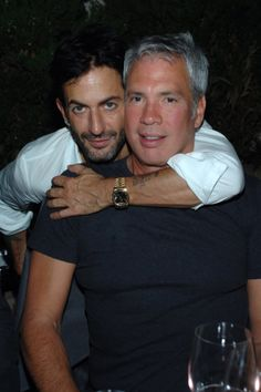 Marc Jacobs & Robert Duffy - celebrating 30 years of Marc Jacobs International! #MJ30