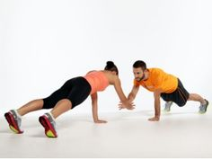 Great partner work outs. Awesome for couples or even just friends. Motivation and a good sweat.