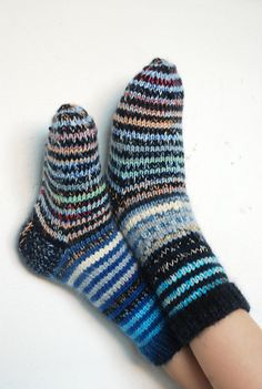 Ravelry: capucino's Striped socks