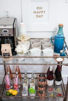 Coffee & Bar Cart - Annie Reeves