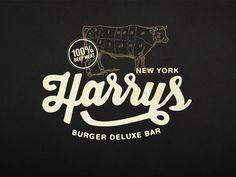Harrys New York, work in progress.. on Branding Served