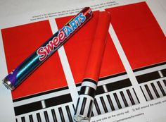 Star Wars Darth Vader Lightsaber Candy - Printable Artwork on Etsy, $4.00
