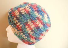Crochet Turban Chemo Cap Turban Hat Crochet Beanie by lanacooper,