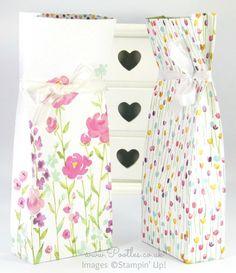 Stampin' Up! Demonstrator Pootles - Painted Blooms Bag Tutorial
