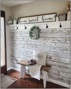 Sweet Home, Diy Casa, Farmhouse Wall Decor, Farmhouse Ideas, Farmhouse Front, Farmhouse Style Decorating, Rustic Wall Decor, Farmhouse Design, Rustic Decorating Ideas