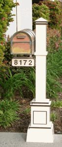 The Craftsman Mailbox Post & Westchester Brass Mailbox with Locking Insert Option by Streetscape Mailboxes is on sale now. Diy Mailbox, Mailbox Ideas, Mailbox Decorating, Craftsman Mailboxes, Victorian Mailboxes, Address Signs For Yard, Country Mailbox, Copper Mailbox, Gardens