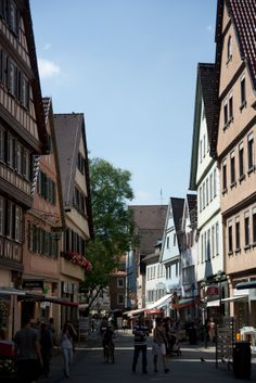 Stuttgart Germany - Megan and Justin were born here!