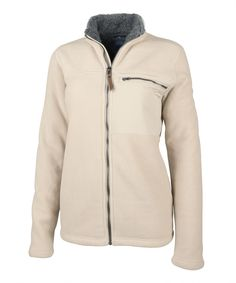 ca002c84b2fd2c Add your logo or design to this Charles River Womens Jamestown Fleece Jacket  Charles River
