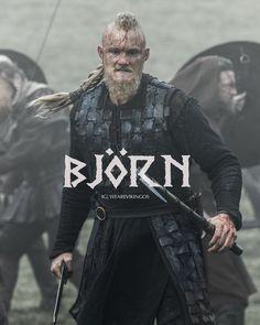 IRONSIDE . #björn #björnironside #lagertha #vikings #vikings5 #vikingo #vikingos #norse