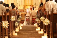 I would do something like this if I were to have a church wedding