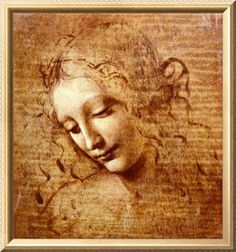 Leonardo Da Vinci Paintings   Leonardo DA VINCI-High Quality Leonardo da Vinci Art Print. Open-ended ...