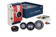 Lomo'Instant Boston Edition – this might actually make me want to hold a camera again. Someday.