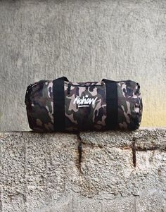 It's new and it's something perfect. The #camo canvas barrel bag is here for you. Get it on NOHOWSTYLE.COM  Don't waste your time. ⚡️
