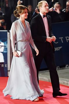The Duke and Duchess of Cambridge joined the stars on the red carpet last night…
