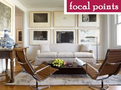 Focal Points in a room