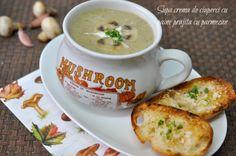 Parmezan, Stuffed Mushrooms, Soup, Eat, Cooking, Tableware, Recipes, Blog, Stuff Mushrooms