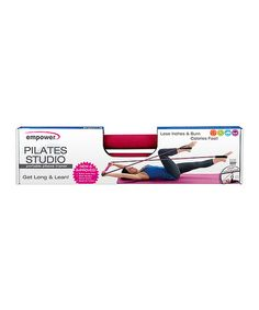 Another great find on #zulily! Portable Pilates Studio Set by Empower #zulilyfinds