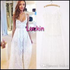 Women Sexy Front Fork Condole Belt Skirt Long Ankle Length Lace Dress See-through Nightgown White Black from Lockin,$6.29 | DHgate.com