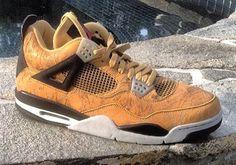 """Air Jordan 4 """"Laser"""" PE for Michael Jordan's Birthday"""