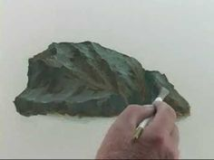 Video by Art of John Magne Lisondra Acrylic painting techniques and tutorial for beginners. In this tutorial, you will learn on how to paint rocks or st Acrylic Painting Techniques, Painting Videos, Art Techniques, Mountain Paintings, Nature Paintings, Landscape Paintings, Oil Paintings, Acrylic Painting Tutorials, Watercolour Tutorials