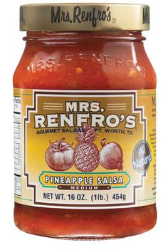 Pineapple Salsa from @Mrs. Renfro's Salsas - perfect to enjoy for the #superbowl